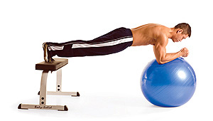 swiss-ball-plankfeetbench-male